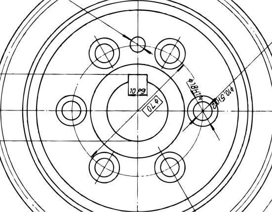 איור דמוי שרטוט של מנגנון ההזזה של הרדור בו מצויידים כל ארונות ההזזה של הרדור